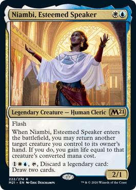 niambi blink decklist m21 new decks