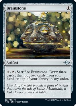 Brainstone Modern Horizons 2 Spoilers
