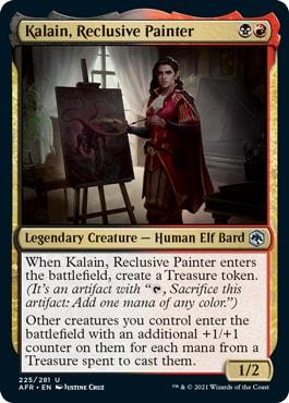 Kalain, Reclusive Painter Best Archetypes Forgotten Realms Draft
