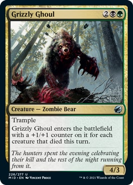 Grizzly Ghoul Midnight Hunt How to Win Draft
