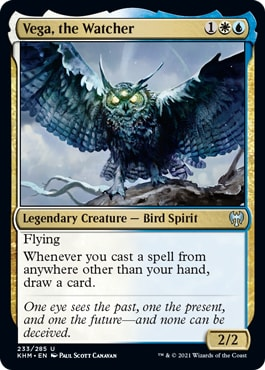 Vega, the Watcher Kaldheim Draft Archetypes UW Foretell
