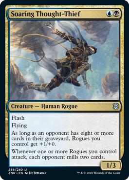 Zendikar Rising Blue Black Rogues Uro Ban