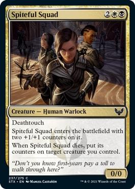 Spiteful Squad Strixhaven Draft Guide