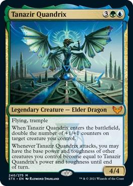 Tanazir Quandrix Standard Decklist