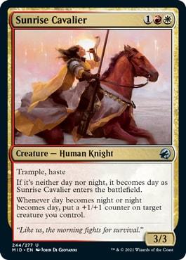 Sunrise Cavalier Midnight Hunt Draft Guide