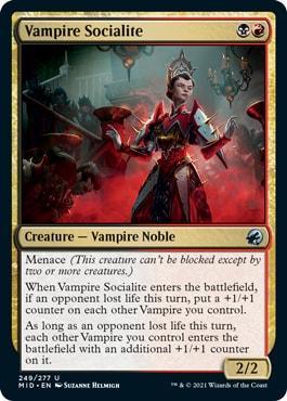 Vampire Socialite Midnight Hunt Draft Archetypes