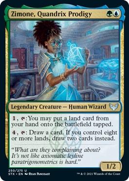 Zimone, Quandrix Prodigy How to Draft Quandrix Strixhaven