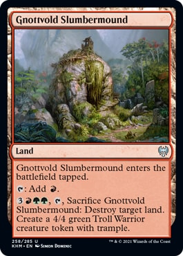Gnottvold Slumbermound
