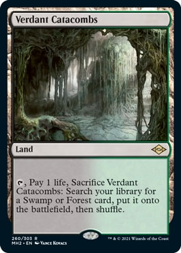 Verdant Catacombs MTG Fetch Lands