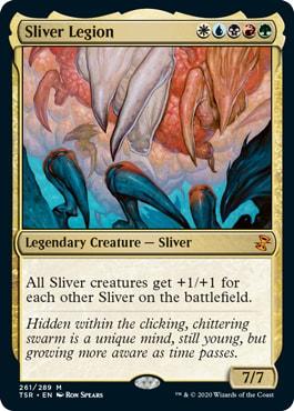 Sliver Legion Best Cards for Sliver Tribal Commander