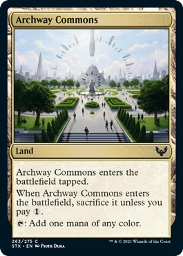 Archway Commons Strixhaven Draft Guide