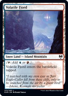 Snow lands Kaldheim Sealed Guide