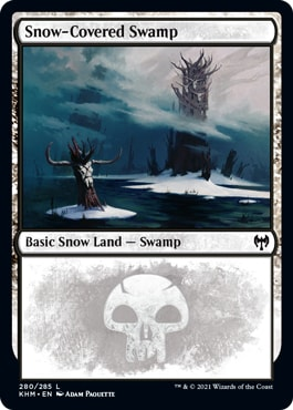 Snow-Covered Swamp Basic Land