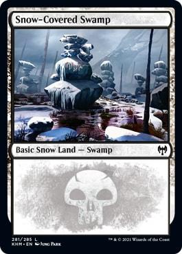 Snow-Covered Swamp Kaldheim