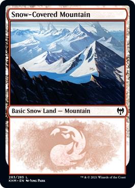 Kaldheim Snow-Covered Basic Lands Mountain