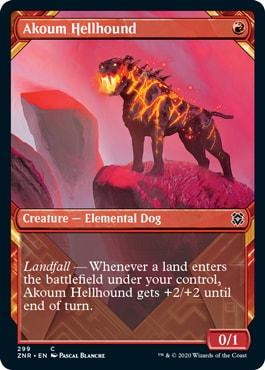 Akoum Hellhound Showcase
