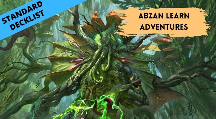 Abzan Learn Adventures Standard Decklist Banner