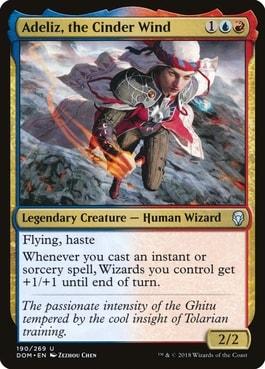 Adeliz, the Cinder Wind Best Commanders Wizard Tribal Wizards