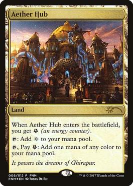 Aether Hub Card Style Preorder Kaladesh Remastered