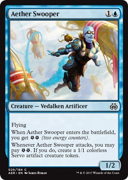 Aether Swooper Kaladesh Remastered Draft Guide