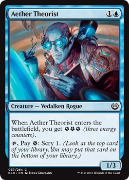Aether Theorist Kaladesh Remastered Draft Guide