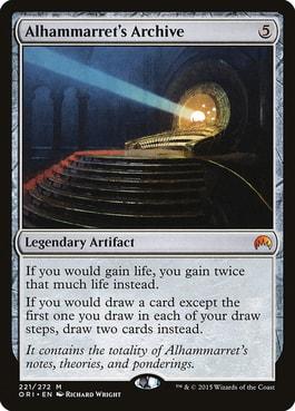 Alahammarret's Archive Lifegain Theme MTG Commander