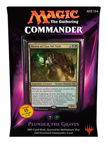 All Commander Precons 2015 Plunder the Graves