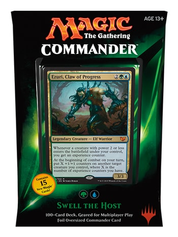 All Commander Precons 2015 Swell the Host