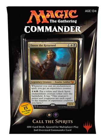 All Commander Precons Call the Spirits