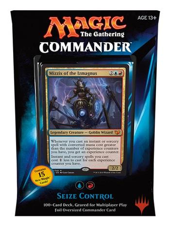 All Commander Precons Seize Control