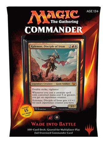 All Commander Precons Wade Into Battle