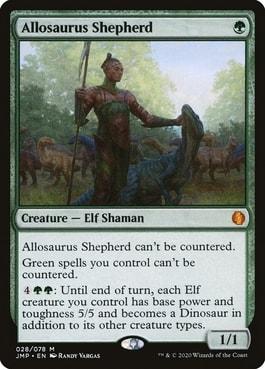 Allosaurus Shepherd Best Cards for Elf Tribal in Commander