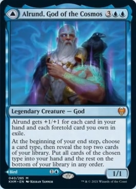 Alrund God of the Cosmos Foretell Interaction