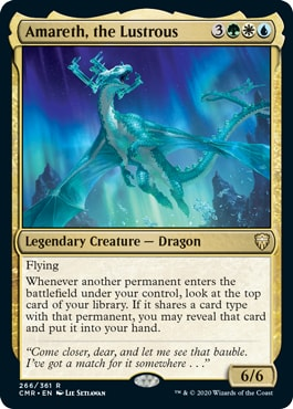 Amareth the Lustrous Commander Legends All Cards