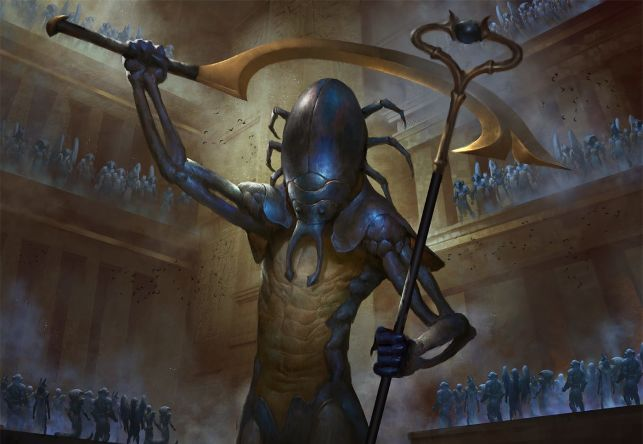 Amonkhet Remastered Spoilers - Scarab God Banner