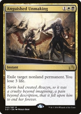 Anguished Unmaking How to Make Better Commander Deck