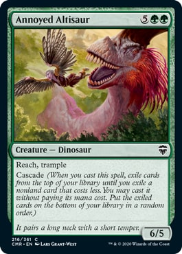 Annoyed Altisaur