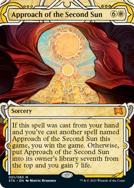 Approach of the Second Sun Mystical Archive Card List