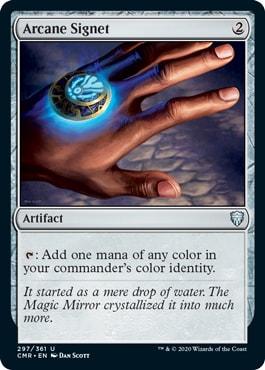 Arcane Signet Commander Legends