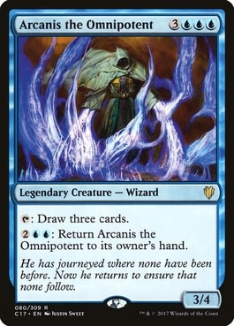 Arcanis the Omnipotent Commander