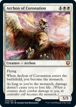 Archon of Corornation Commander Legends All Cards