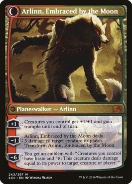 Arlinn, Embraced by the Moon Werewolf Planeswalker