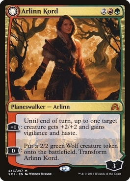 Arlinn Kord Werewolf Planeswalker