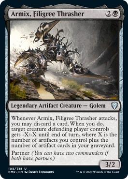 Armic Filigree Thrasher Commander Legends All Cards