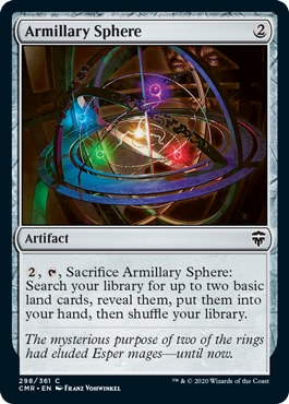 Armilliary Sphere Commander Legends All Cards