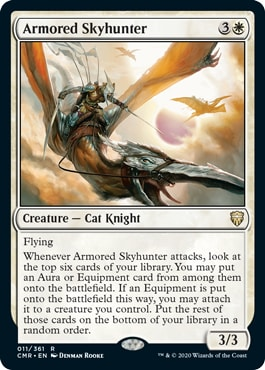Armored Skyhunter Commander Legends All Cards