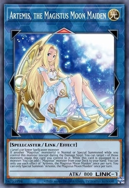 Artemis the Magistus Moon Maiden