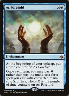 As Foretold Commander