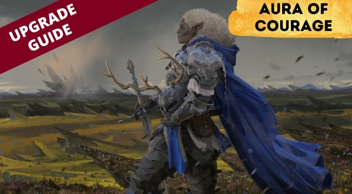 Aura of Courage Upgrade Guide Banner