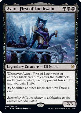Ayara First of Lochtwain Mono Black Devotion